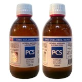 2 x Premium Colloidal Silver 25ppm - 250ml GLASS Bottles [2 For 1 Deal]